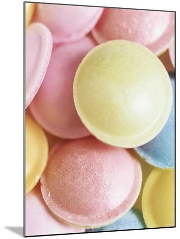 Pastel-Coloured Flying Saucers-Sam Stowell-Mounted Photographic Print
