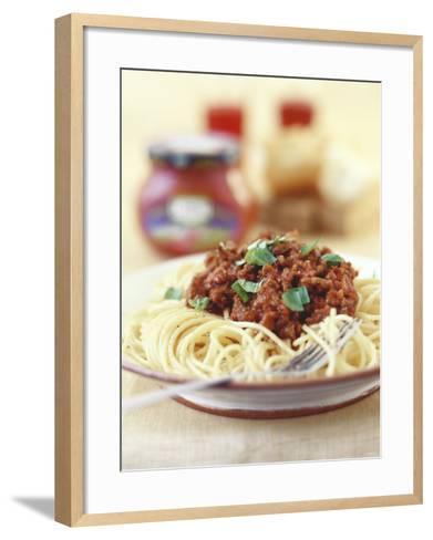Spaghetti Bolognese-Sam Stowell-Framed Art Print