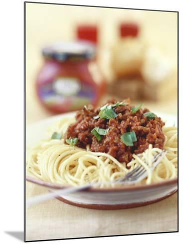 Spaghetti Bolognese-Sam Stowell-Mounted Photographic Print