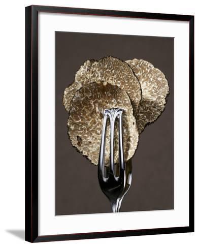 Truffle Slices in Tongs-Marc O^ Finley-Framed Art Print