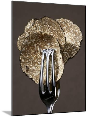 Truffle Slices in Tongs-Marc O^ Finley-Mounted Photographic Print