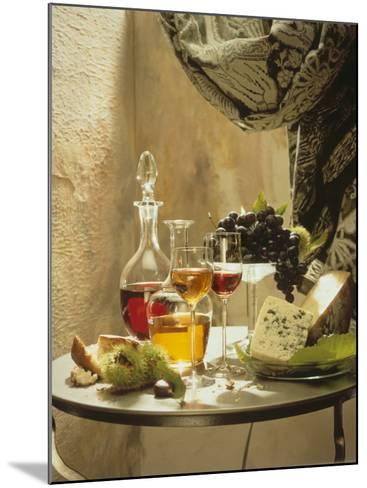 Dessert Wines for a Selection of Cheeses--Mounted Photographic Print