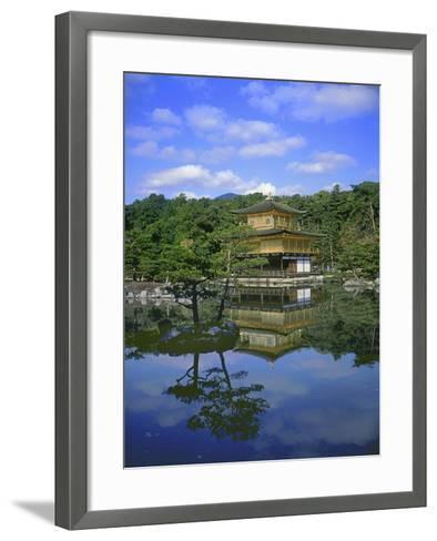 Kinkakuji Temple, Kyoto, Japan--Framed Art Print