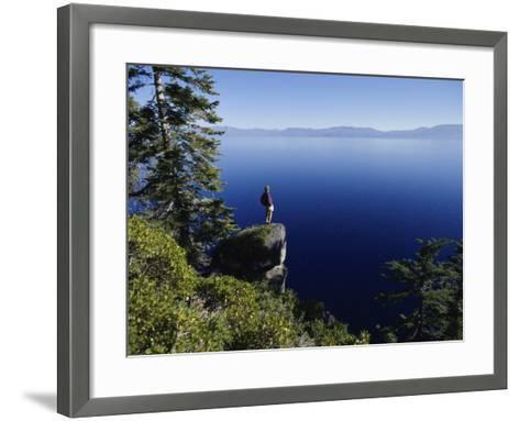 Lake Tahoe, USA--Framed Art Print