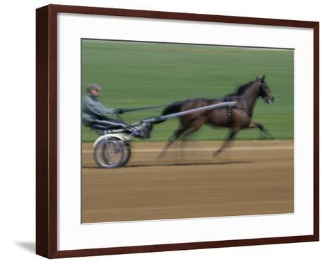 Red Mile Harness Track, Lexington, Kentucky, USA--Framed Art Print