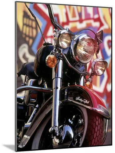 Harley Davidson Heritage Softail Made 1991 from a 1936 Style--Mounted Photographic Print
