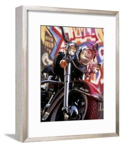Harley Davidson Heritage Softail Made 1991 from a 1936 Style--Framed Art Print