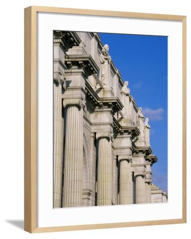 Union Station, Washington, D.C., USA--Framed Art Print