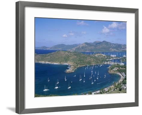 English Harbour, Antigua, Caribbean Islands--Framed Art Print