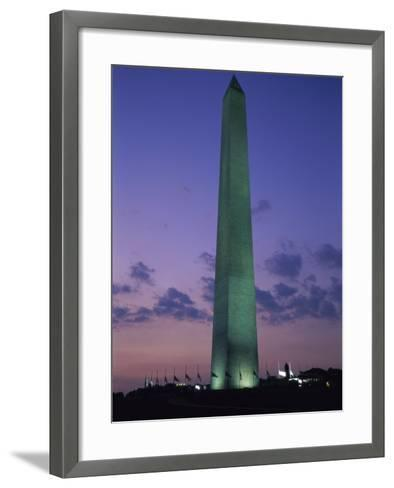 Washington Monument, Washington, D.C., USA--Framed Art Print