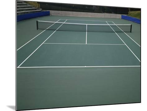 Tennis Court--Mounted Photographic Print
