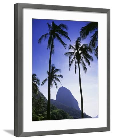 Sugar Loaf Mountain, Rio de Janeiro, Brazil--Framed Art Print