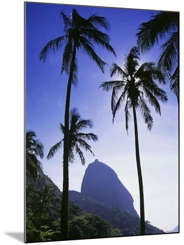 Sugar Loaf Mountain, Rio de Janeiro, Brazil--Mounted Photographic Print