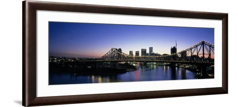 Storey Bridge, Brisbane, Australia--Framed Art Print