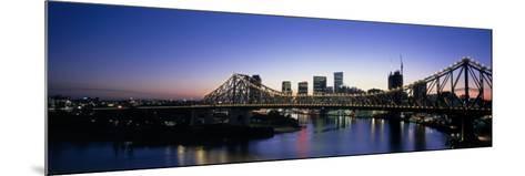 Storey Bridge, Brisbane, Australia--Mounted Photographic Print