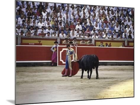 Bullfight, Pamplona, Spain--Mounted Photographic Print