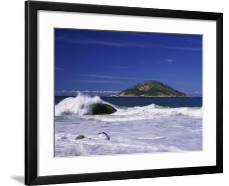 Grumari Beach, Rio de Janeiro, Brazil--Framed Art Print