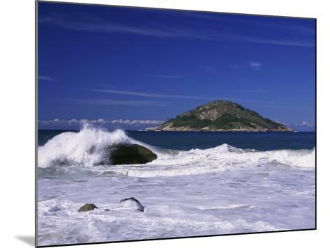 Grumari Beach, Rio de Janeiro, Brazil--Mounted Photographic Print