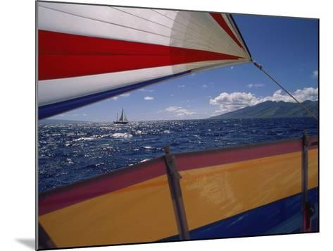 Sailing Detail--Mounted Photographic Print