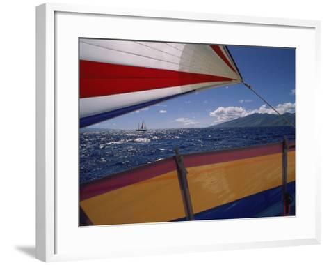 Sailing Detail--Framed Art Print