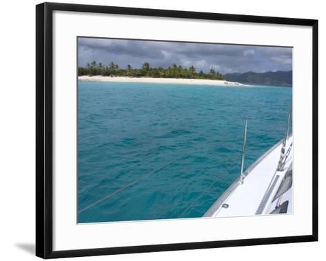 Sandy Cay, British Virgin Islands--Framed Art Print