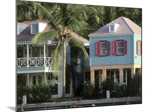 Commercial District of West End and Soper's Hole Tortola, British Virgin Islands--Mounted Photographic Print