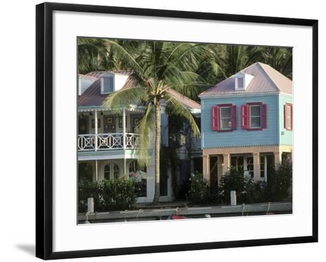 Commercial District of West End and Soper's Hole Tortola, British Virgin Islands--Framed Art Print
