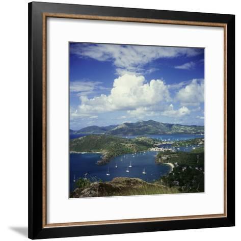 English Harbour, Antigua--Framed Art Print