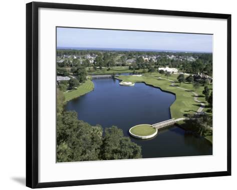 The Plantation Country Club, Jacksonville, Florida--Framed Art Print