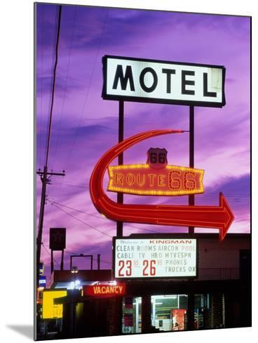 Route 66, Arizona, USA--Mounted Photographic Print