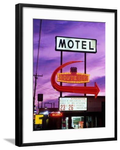 Route 66, Arizona, USA--Framed Art Print