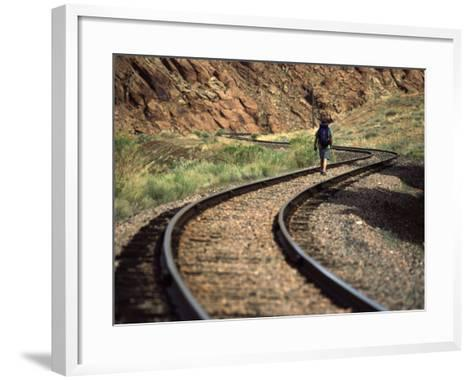 Near Moab Utah, USA--Framed Art Print