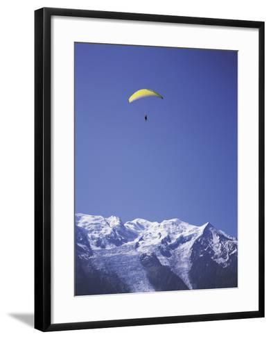 Chamonix-Mont-Blanc, France--Framed Art Print