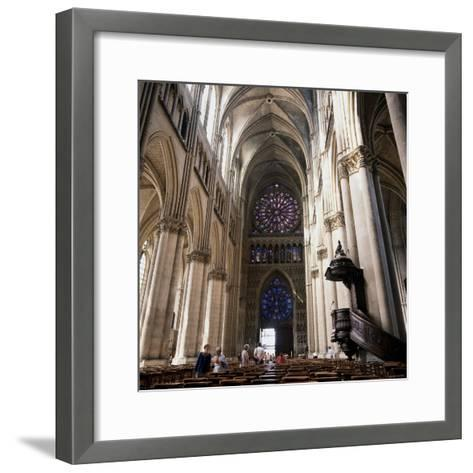 Gothic Cathedral Reims Champagne, France--Framed Art Print