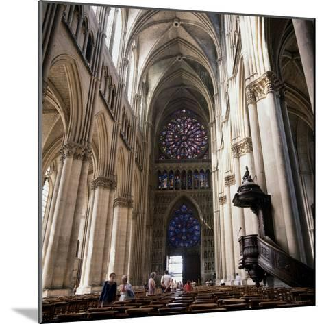 Gothic Cathedral Reims Champagne, France--Mounted Photographic Print