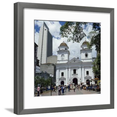 La Candalaria Church, Medellin, Colombia--Framed Art Print