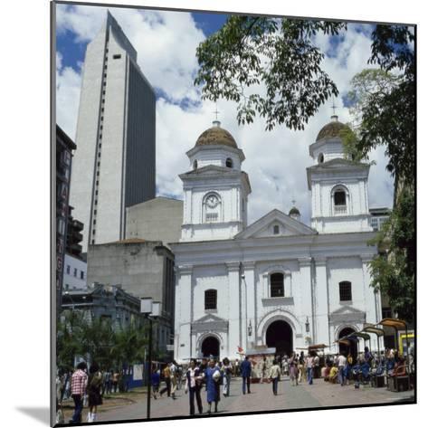 La Candalaria Church, Medellin, Colombia--Mounted Photographic Print