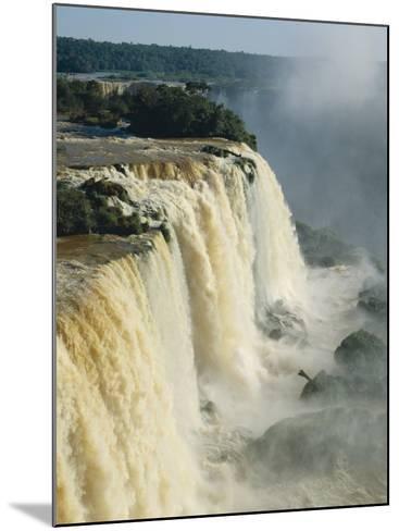 Iguassu Falls, Brazil--Mounted Photographic Print