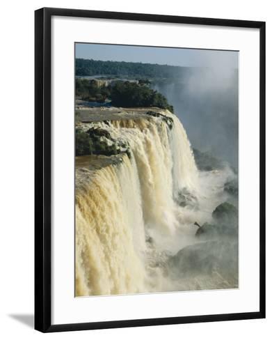 Iguassu Falls, Brazil--Framed Art Print