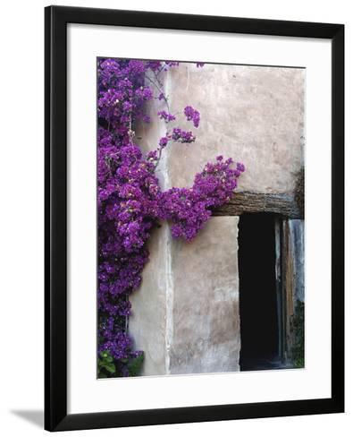 Carmel Mission, Carmel, California, USA--Framed Art Print