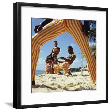 Limbo Dance, Barbados--Framed Art Print