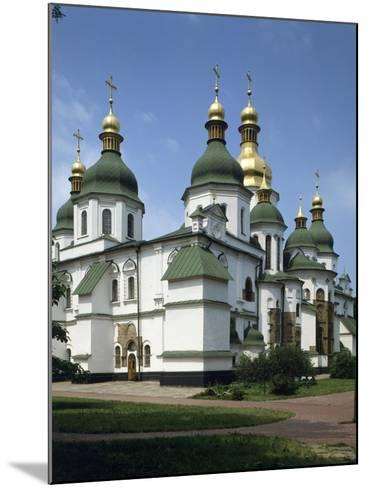 St. Sophia's Cathedral, Kiev, Ukraine--Mounted Photographic Print