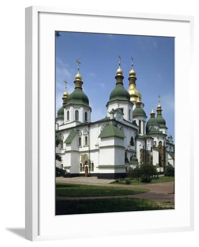 St. Sophia's Cathedral, Kiev, Ukraine--Framed Art Print