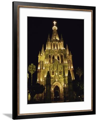 La Parroquia Church, San Miguel de Allende, Mexico--Framed Art Print