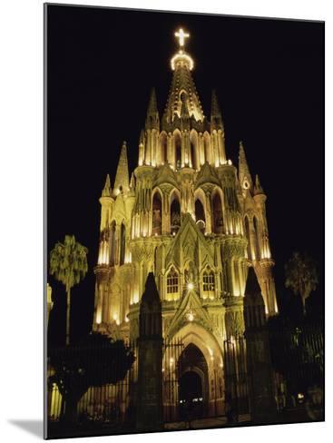 La Parroquia Church, San Miguel de Allende, Mexico--Mounted Photographic Print