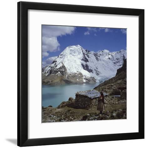 Santa Ana Lake, Raura Range, Peru--Framed Art Print