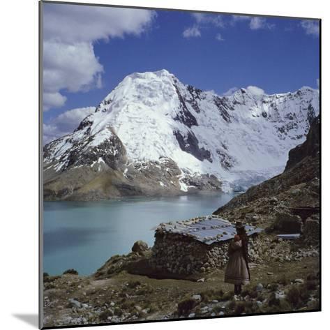 Santa Ana Lake, Raura Range, Peru--Mounted Photographic Print