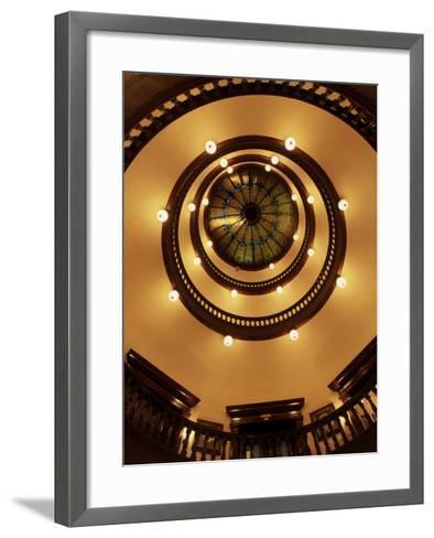 City Hall, Savannah, Georgia, USA--Framed Art Print