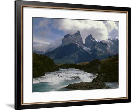 Torres Del Paine National Parkchile--Framed Art Print