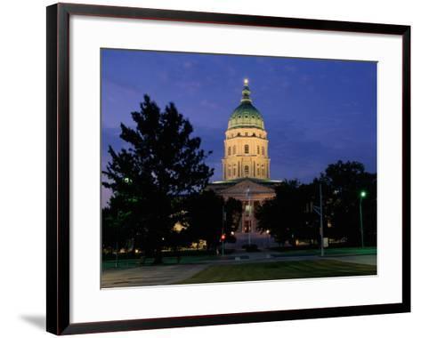 State Capitol, Topeka, USA--Framed Art Print